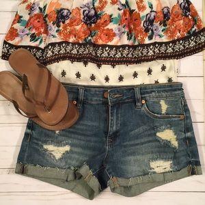 Jean shorts from StitchFix
